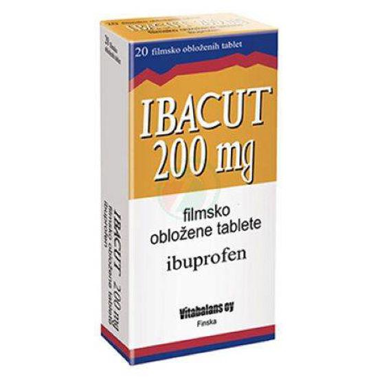 Ibacut 200 mg filmsko obložene tablete, 20 tablet