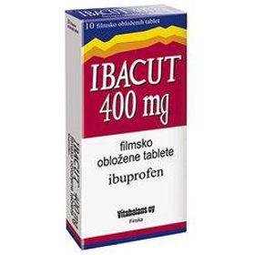 Slika Ibacut 400 mg filmsko obložene tablete, 10 tablet