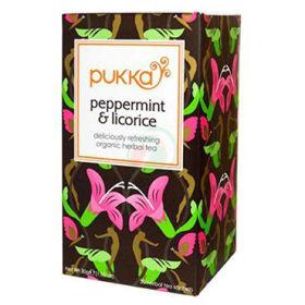 Slika Pukka Peppermint & Licorice ekološki zeliščni čaj, 30 g