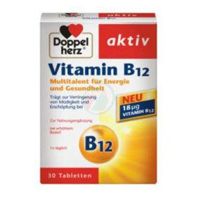 Slika Doppel Herz vitamin B12, 30 tablet