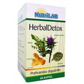 Slika Nutrilab Herbal Detox, 60 kapsul
