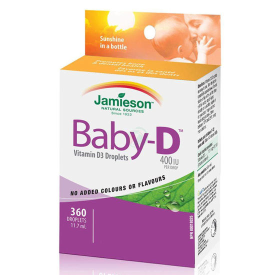 Jamieson Baby Vitamin D3 kapljice, 11,7 mL