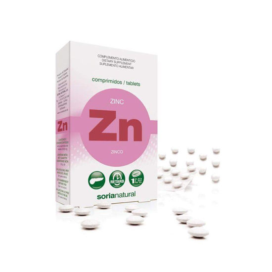 Soria Natural Zn cink retard, 48 tablet
