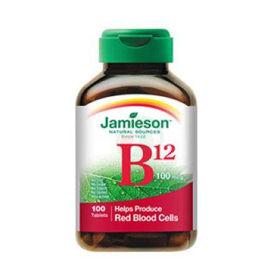 Slika Jamieson vitamin B12 250 µg, 100 tablet