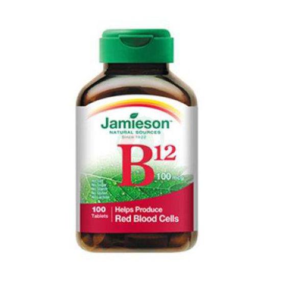 Jamieson vitamin B12 250 µg, 100 tablet