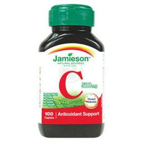Slika Jamieson vitamin C 500 mg tablete s podaljšanim sproščanjem, 100 tablet
