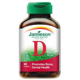 Slika Jamieson vitamin D 400 IU, 90 tablet