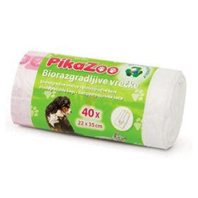 Slika PikaZoo biorazgradljive vrečke, 30 vrečk