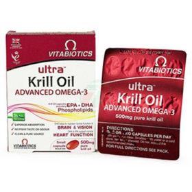 Slika Ultra Krill Oil napredne Omega-3 maščobe, 30 kapsul