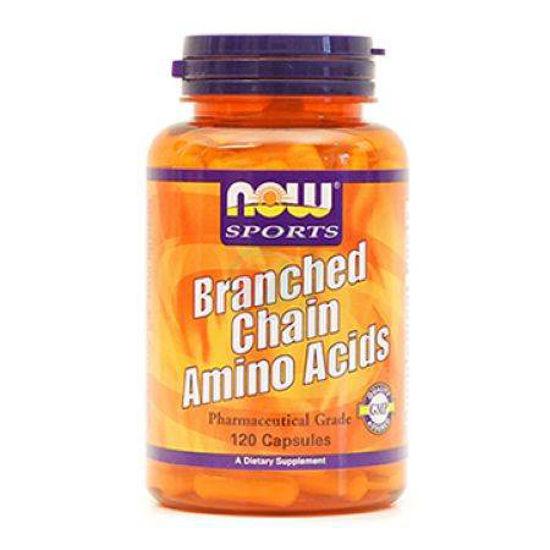 Now BCAA Branched Chain verižne aminokisline, 120 kapul