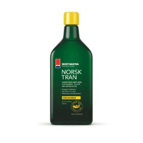 Slika Biopharma Norsk Tran olje polenovke, 500 mL
