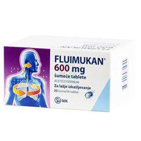 Slika Fluimukan 600 mg, 20 šumečih tablet