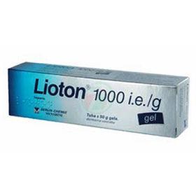 Slika Lioton 1000 i.e./g heparin gel, 50 ali 100 g