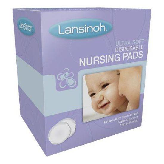 Lansinoh Stay Dry blazinice za dojke, 60 blazinic