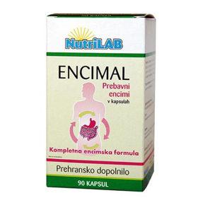 Slika Nutrilab Encimal dopolnilo, 90 kapsul