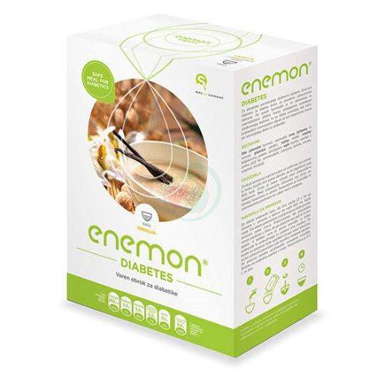 Enemon Diabetes živilo za posebne zdravstvene namene z okusom vanilija, 10 x 30 g