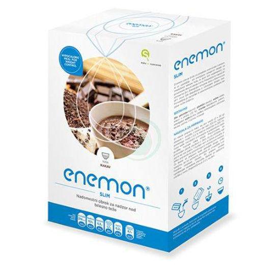 Enemon Slim nadomestilo obroka z okusom kakav, 10 x 30 g