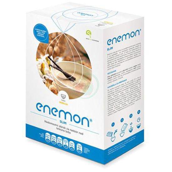 Enemon Slim nadomestilo obroka z okusom vanilija, 10 x 30 g