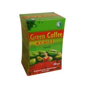 Slika Zelena kava in čili 490 mg, 60 kapsul