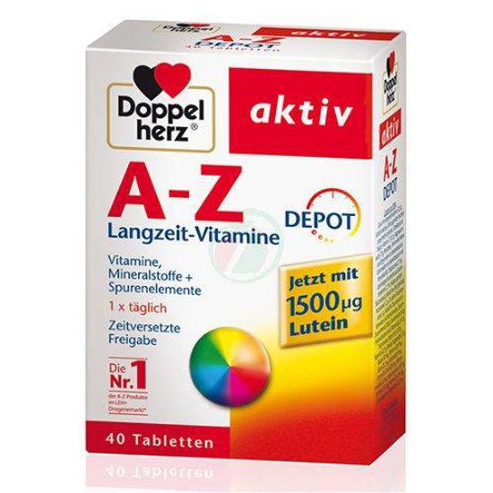 Doppelherz aktiv Magnezij 400+B1+B6+B12+folna kislina, 30 tablet