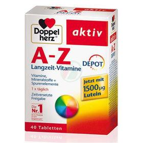 Slika Doppelherz Aktiv A-Ž DEPO, 40 tablet