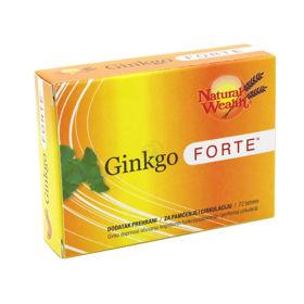Slika Natural Wealth Ginkgo Forte 60 mg, 30 tablet