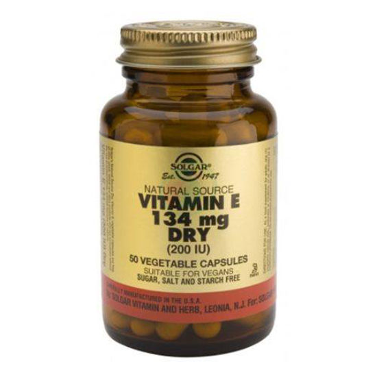 Solgar Vitamin E 134 mg, 50 kapsul
