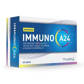 Slika IMMUNO A24 prehranski dodatek, 60 tablet