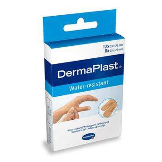 DermaPlast Universal Water-resistant obliži, 20 obližev