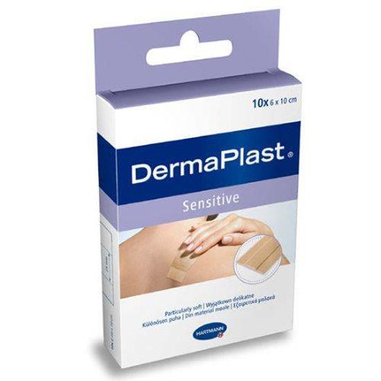 DermaPlast Sensitive obliži, 10 obližev