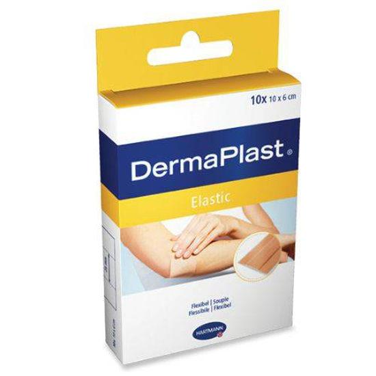 DermaPlast Elastic klasični elastični obliži, 10 obližev