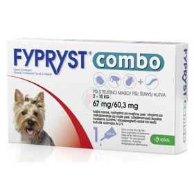 Slika Fypryst Combo 67 mg/60,3 mg kožne kapljice za pse od 2 - 10 kg