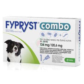 Slika Fypryst Combo 134 mg/120,6 mg kožne kapljice za pse od 10 - 20 kg