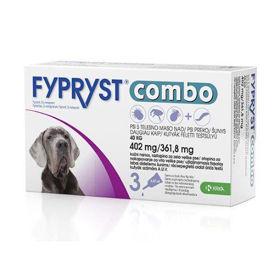 Slika Fypryst Combo 402 mg/361,8 mg kožne kapljice za pse nad 40 kg