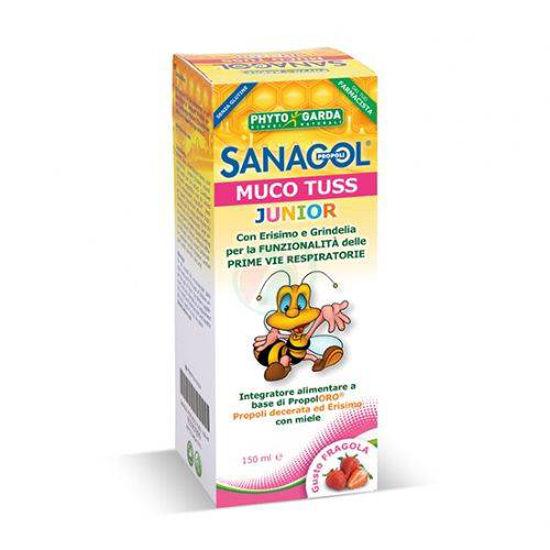 Sanagol Muco Tuss sirup za otroke, 150 mL