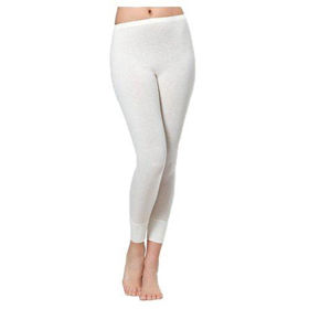 Slika Medima 1064 Unisex bele dolge spodnje hlače