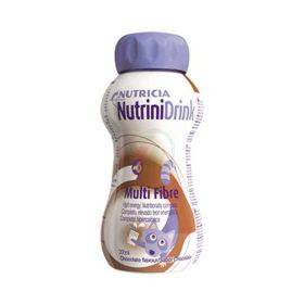 Slika NutriniDrink Multi Fibre z okusom čokolade, 200 mL