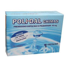 Slika Polidal dopolnilo s polidatom, 20 tablet