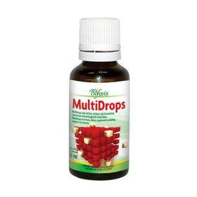 Slika Biyovis Multidrops multivitaminske kapljice, 30 mL