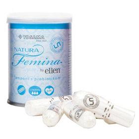 Slika Natura Femina by Ellen Normal higienski tamponi, 12 tamponov