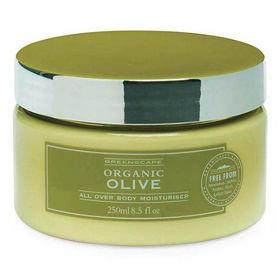 Slika Greenscape vlažilna krema za telo z vonjem olive, 250 mL