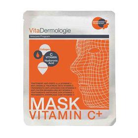 Slika VitaDermologie maska za obraz z anti-ageingom in z vitaminom C