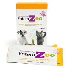 Slika EnteroZOO veterinarski gel za želodec v vrečkah, 3x150 g