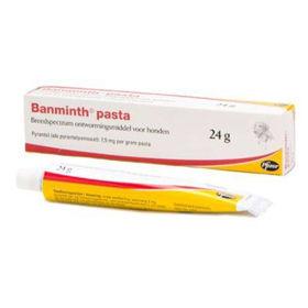Slika Banminth 7.5 mg peroralna pasta za pse v tubi, 24 g