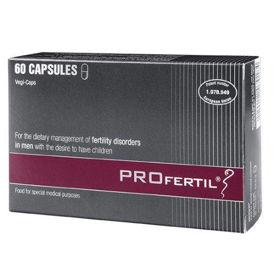Slika PROfertil za dietetsko uravnavanje motenj plodnosti pri moških, 60 kapsul