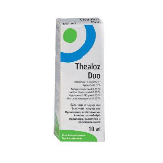 Thealoz Duo kapljice za oko, 10 mL