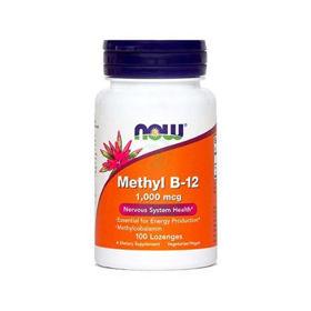 Slika Now Methyl B-12, 100 pastil