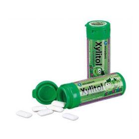 Slika Xylitol Junior varovalni žvečilni gumiji z okusom jabolka, 30 gumijev