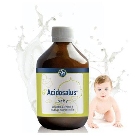 Acidosalus Baby mikrooranizmi za dojenčke in otroke, 300 mL
