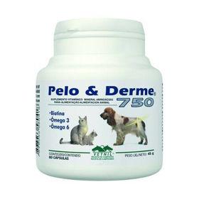 Slika Vetnil Pelo&Derme 750, 60 tablet